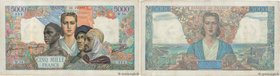 Country : FRANCE  Face Value : 5000 Francs EMPIRE FRANÇAIS  Date : 09 juillet 1942  Period/Province/Bank : Banque de France, XXe siècle  Catalogue ref...