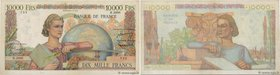 Country : FRANCE  Face Value : 10000 Francs GÉNIE FRANÇAIS  Date : 02 novembre 1951  Period/Province/Bank : Banque de France, XXe siècle  Catalogue re...