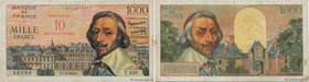 Country : FRANCE  Face Value : 10 NF sur 1000 Francs RICHELIEU  Date : 07 mars 1957  Period/Province/Bank : Banque de France, XXe siècle  Catalogue re...