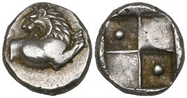 Thrace, Chersonessos, hemidrachm, 2.47g (SNG Copenhagen 824), well centred, extremely fine; Messembria, diobol, 1.19g (SNG Copenhagen 652); with Ae of...