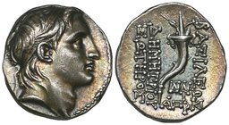 Seleucid Kings, Demetrios I, drachm, Antioch, dated 152/1 BC, rev., cornucopia, 4.19g (SC 1642.3a; SMA 121); Alexander I, drachm, Antioch, rev., Apoll...