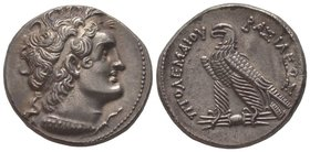 Tetradrachm, 180-170 BC, AG 14.16 g. Ref : SNG Manchester VII, 1432. Provenance : Tkalec, 22/04/2007, lot 120 Almost uncirculated