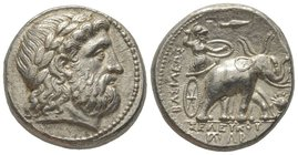 Tetradrachm, Susa, 295 BC, AG 17,20g. Ref : Houghton-Lorber 73.177, 1a. Houghton Coll. 1027 Provenance : Hess-Divo 307, 8/06/2007. Lot 1299 Sotheby's ...