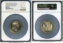 """Slave Trade Abolition"" silver Medal 1807 MS62 Prooflike NGC, BHM-627. 53mm.   HID09801242017"