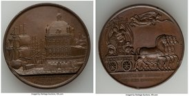 """Battle of Vimiera"" bronze Medal 1808 UNC, BHM-637, Eimer-989. 41mm. 37.28gm. By J. J. Barre and G. Mills.  HID09801242017"