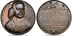 """Death of Whitefield"" bronze Medal 1770 MS64 Brown NGC, Betts-525, BHM-148. 35mm.  HID09801242017"