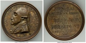 """George Washington - The Manly Medal"" 1790 VF/XF, GW-10, Baker-61B. 49mm. 41.34gm. First obverse.   HID09801242017"
