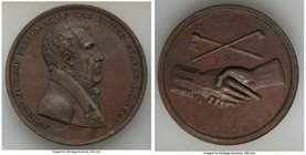 """Andrew Jackson Indian Peace"" Medal 1829-Dated AU (Residue), 51mm. 63.70gm.   HID09801242017"