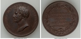 """Arthur Marquis of Wellington"" bronze Medal 1812 UNC, 36mm. 24.97gm. Deliverance of Portugal.  HID09801242017"
