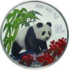 China; Panda Colorized Silver Proof 10 Yuan. 1997. PCGS PR69CAM. Proof. 31.10g. 0.999. 40.00mm.