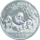 China; Panda 12oz Silver Proof 100 Yuan. 1997. . Proof. 373.24g. 0.999. 80.00mm. KM994