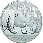 China; Panda 5oz Silver Proof 50 Yuan. 2011. . Proof. 155.50g. 0.999. 70.00mm. KM1984