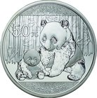 China; Panda 5oz Silver Proof 50 Yuan. 2012. . Proof. 155.50g. 0.999. 70.00mm. KM2033