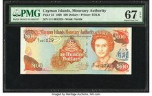 Cayman Islands Monetary Authority 100 Dollars 1998 Pick 25 PMG Superb Gem Unc 67 EPQ.   HID09801242017
