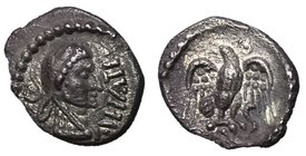 Celtic Britain, Trinovantes & Epaticuus, 35 - 43 AD, Silver Unit