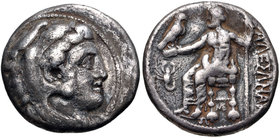 Kingdom of Macedonia, Alexander III, 336 - 323 BC, Silver Tetradrachm, With Scorpion
