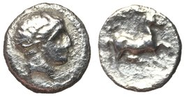 Thessaly, Phalanna, mid 4th Century BC, Silver Trihemiobol, ex BCD Collection