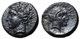 Thessaly, Phalanna, mid 4th Century BC, AE Dichalkon, ex BCD Collection