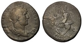 Hadrian, 117 - 138 AD, AE As, Circulation in the East, Rare