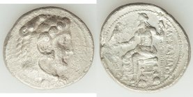 MACEDONIAN KINGDOM. Alexander III the Great (336-323 BC). AR tetradrachm (28mm, 16.62 gm, 5h). Fine, porosity. Lifetime issue of Myriandrus or Issus, ...