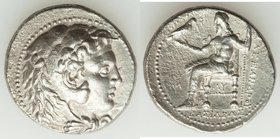 MACEDONIAN KINGDOM. Alexander III the Great (336-323 BC). AR tetradrachm (27mm, 16.60 gm, 4h). Choice VF. Early posthumous issue of 'Babylon', ca. 323...
