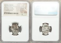 CILICIA. Tarsus. Ca. late 5th century BC. AR stater (23mm, 10.53 gm, 9h). NGC Fine 2/5 - 3/5. Satrap on horseback riding left, reins in left hand, lot...