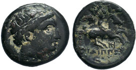 KINGS of MACEDON. Philip II (359-336 BC).AE Bronze