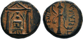 PAMPHYLIA.Perge 50-30 BC. AE Bronze.