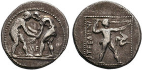 PAMPHYLIA.Aspendos. (Circa 380/75-330/25 BC).AR Stater.