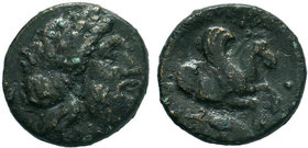 MYSIA. Adramytteion circa 400 BC. AE Bronze.