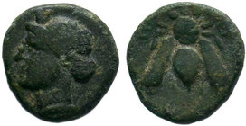 IONIA. Ephesos.(circa 380-320 BC). AE Bronze.