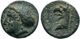 IONIA.Phokaia. (350-300 BC).AE Bronze 