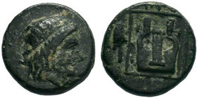 IONIA.Kolophon. (circa 400-350 BC).AE Bronze.