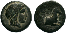 IONIA.Kolophon. (330-280 BC).AE Bronze.