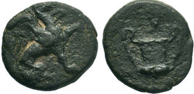 IONIA. Teos. (circa 300-200 BC).AE Bronze.