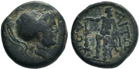 AITOLIA. Aitolian League. Ae (Circa 279-168 BC).