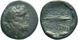 PHRYGIA. Abbaitis.(c 165-129 BC).AE Bronze.