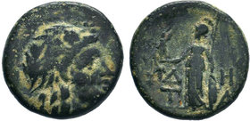 AEOLIS.Temnos.( circa 200-0 BC). AE Bronze.