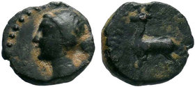 CAPPADOCIA. Ariarathes IV. (c 220-163 BC). AE Bronze.