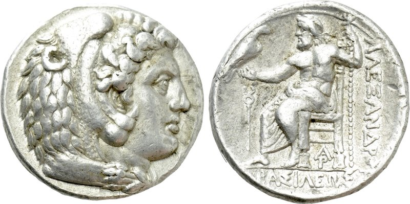 KINGS OF MACEDON. Alexander III 'the Great' (336-323 BC). Tetradrachm. Arados. P...