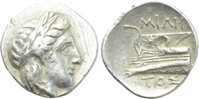 BITHYNIA. Kios. Half Siglos or Hemidrachm (Circa 350-300 BC). Miletos, magistrate.