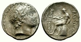 SELEUKID KINGS of SYRIA. Antiochos III. 223-187 BC. AR Tetradrachm