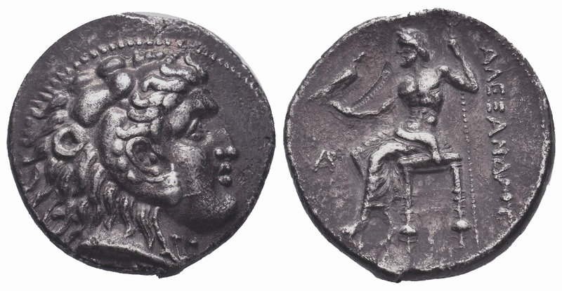 Kingdom of Macedon, Alexander III 'the Great' AR Tetradrachm. circa 333-327 BC. ...