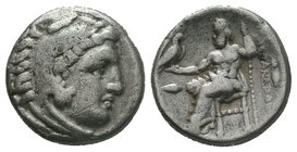 Alexander III the Great (336-323 BC). AR Drachm   Condition: Very Fine  Weight:4,24gr  Diameter:17mm  From a Private UK Collection.