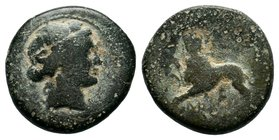 LYDIA. Sardes. Ae (Circa 200-133 BC).