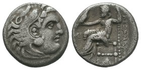 "Kings of Macedon. Alexander III ""the Great"" 336-323 BC.   Condition: Very Fine  Weight: 4.00gr Diameter: 17.55mm"