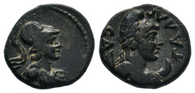 Sagalassos (BC 30-AD 50) AE, Pseudo Autonom , RARE!  Condition: Very Fine  Weight: 3.36gr Diameter: 13.50mm  From a Private UK Collection.