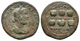 CILICIA. Anazarbus. Valerian I (253-260). Ae  Condition: Very Fine  Weight:18.48gr  Diameter: 31mm From Coin Fair before 1980's