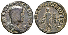 Maximinus I. AD 235-238. Æ Sestertius. Rome mint.  Condition: Very Fine  Weight:19,23gr  Diameter: From a Private UK Collection.