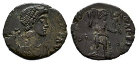 Vandals, Carthage. Pseudo-Imperial coinage. Ca. 440-ca. 490. AE,  Condition: Very Fine  Weight: 1.67 gr Diameter: 16 mm